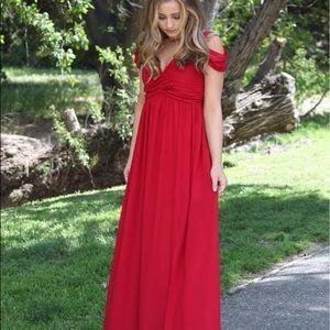 SHEIN Red Prom Dress Size Small